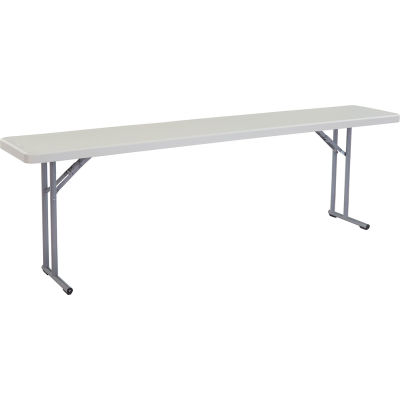 "NPS Seminar Folding Table - 96"" x 18"""