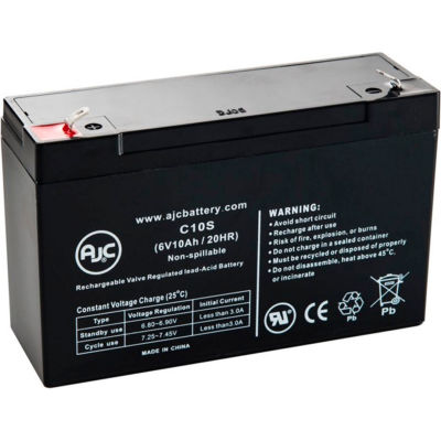 AJC® Eaton PowerWare 5115RM 1500 VA 6V 10Ah UPS Battery