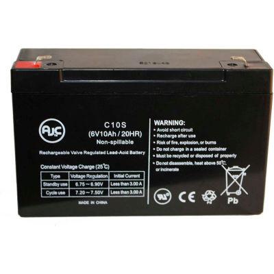 AJC® Emergi-Lite CSM2 6V 10Ah Emergency Light Battery