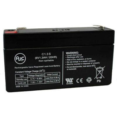 AJC® MK ES1.2-6 Patriot (6V 1.3AH) 6V 1.3Ah Wheelchair Battery
