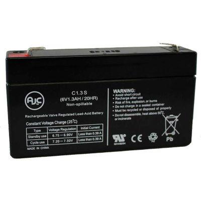 AJC® Vision CP612SLA 6V 1.3Ah Sealed Lead Acid Battery