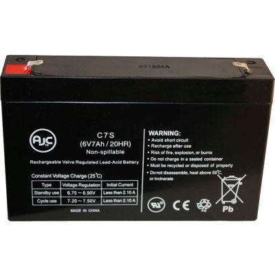 AJC®  Vision CP670 6V 7Ah Sealed Lead Acid Battery