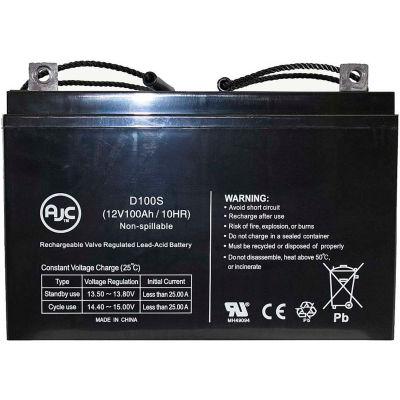 AJC® Pride BATLIQ1011 AGM (Group 27) 12 Volt 100 Ah 12V 100Ah Battery