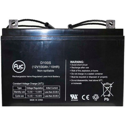 AJC® B&B MPL90-12 HS 12V 100Ah Sealed Lead Acid Battery