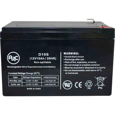 AJC®  Long Way LW-6FM10 Sealed Lead Acid - AGM - VRLA Battery