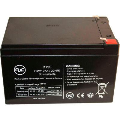 AJC® Minuteman Pro 1000 Black 12V 12Ah UPS Battery