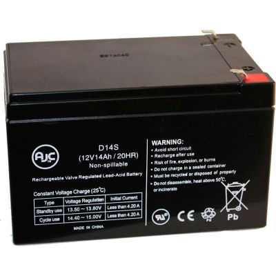 AJC® Peg Perego DJW12-12 DMU12-12 12V 14Ah Scooter Battery