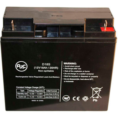 AJC® Universal UB12180 12V 18Ah Scooter Battery