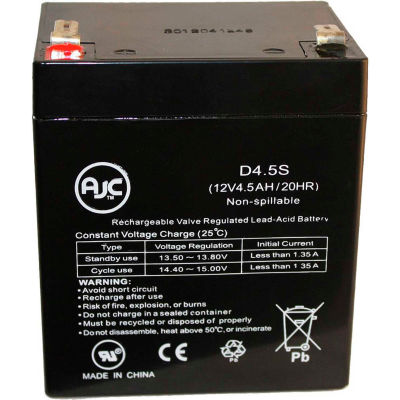 AJC® GS Portalac PE12V17, PE 12V17 12V 18Ah Emergency Light UPS Battery