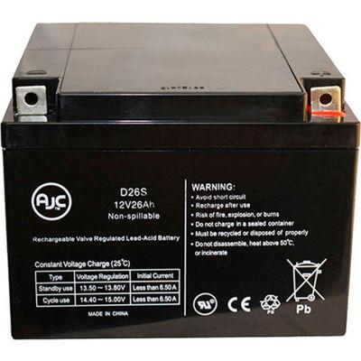 AJC®  Zeus PC26-12M  Sealed Lead Acid - AGM - VRLA Battery