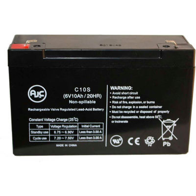 AJC® CyberPower 325SL 12V 3.2Ah UPS Battery