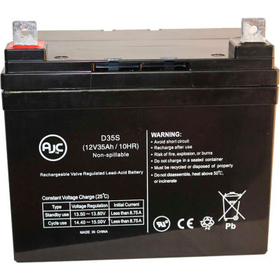 AJC® AJC 42 12V 35Ah Sealed Lead Acid Battery