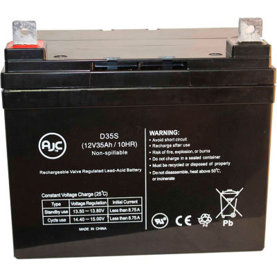 AJC® Electric Mobility 329LE Candy Apple 12V 35Ah Wheelchair Battery