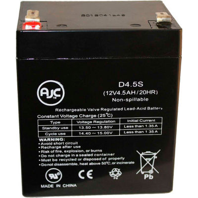 AJC® Enduring CB4-12 12V 4.5Ah UPS Battery