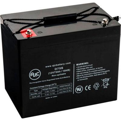 AJC® C&D Dynasty UPS12-300MR 12V 75Ah UPS Battery