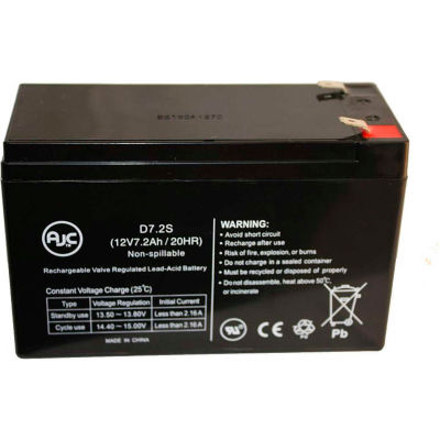 AJC® APC BackUPS CS BK350 12V 7Ah UPS Battery
