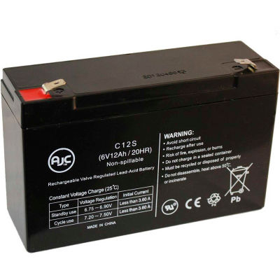 AJC® Eaton Powerware PowerWare 3110-600 VA 12V 7Ah UPS Battery