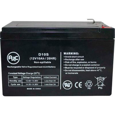 AJC® General Electric GT Series 12V 7Ah UPS Battery