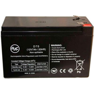 AJC® Best Power PW9125 5000g FC 12V 7Ah UPS Battery
