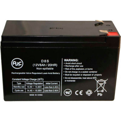 AJC® Go-Ped ESR750EX SLA 12V 8Ah Scooter Battery