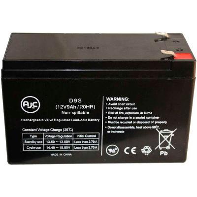 AJC®  Embassy 12CE9 12V 9Ah Sealed Lead Acid Battery