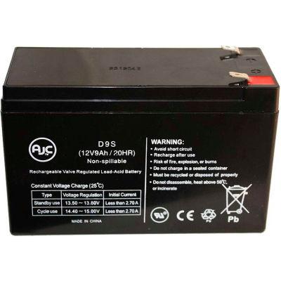 AJC® GE Digital Energy IT Series UPS2000ITSIT UPS2000ITSIR 12V 9Ah Battery