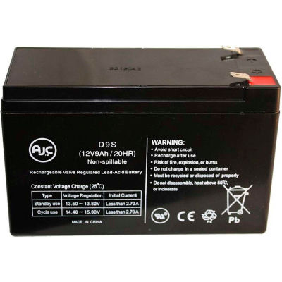 AJC® Powerware PW9130N1500R-EBM2U 12V 9Ah UPS Battery