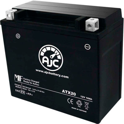 AJC Battery Arctic Cat M 7 Snowmobile Battery (2005-2006), 18 Amps, 12V, B Terminals