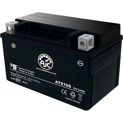 AJC Battery KTM Enduro R 690CC Motorcycle Battery (2009-2013), 8.6 Amps, 12V, B Terminals