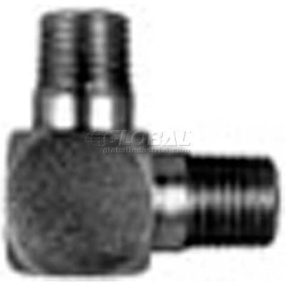 """Buyers 90° Male Pipe Elbow, H3529x4, 1/4"""" X 1/4"""" Npt Male To Male - Min Qty 22"""