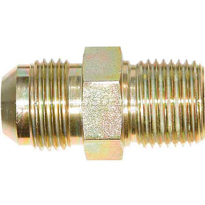 "Buyers Male Connector, H5205x12x16, 3/4"" Tube O.D., 1"" Npt - Min Qty 11"
