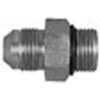 """Buyers Straight Thread O-Ring Connector, H5315x6x4, 3/8"""" Tube O.D., 1/4"""" Port Size - Min Qty 43"""