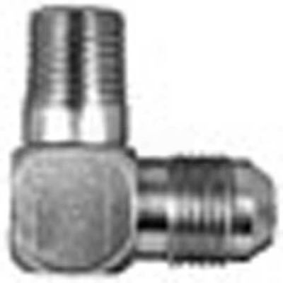 "Buyers 90° Male Elbow, H5405x12x8, 3/4"" Tube O.D, 1/2"" Male Npt - Min Qty 9"