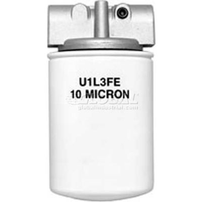 "Filter Assmb., Hfa11025, 10 Micron, 25 Psi Bypass, 3/4"" Npt Ports,(2)1/8"" Npt Gage Ports-Min Qty 2"