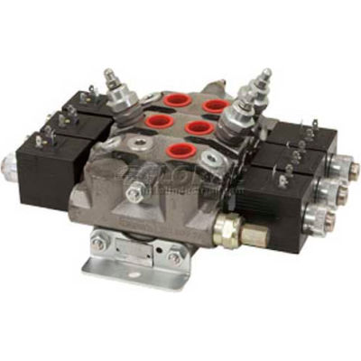 Buyers Electrically Operated Sectional Valves, HVE334PB, 3 Way, 3 Way, 4 Way, PB