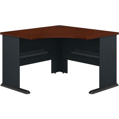 """Bush Furniture 48"""" Corner Desk - Hansen Cherry - Series A"""