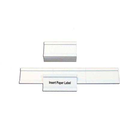 """MasterVision Magnetic Data Cards, White, Accessories, 1"""" X 2"""", 25 pack"""