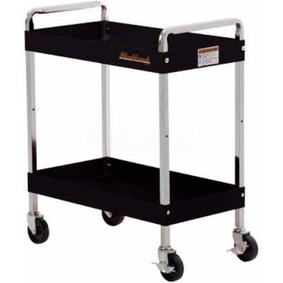 """Blackhawk 92700UC 30"""" Basic Black Utility Cart"""