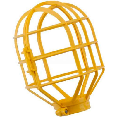 Bayco® Replacement Lamp Guard For String Light Sl-166, Plastic, Yellow - Pkg Qty 20