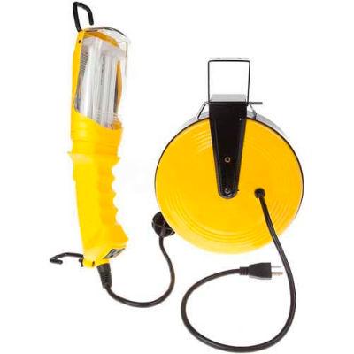 Bayco® 26 Watt Fluorescent Work Light W/Magnet & Tap SL-875, 40'L Cord, 16/3 GA, 4-PK - Pkg Qty 4