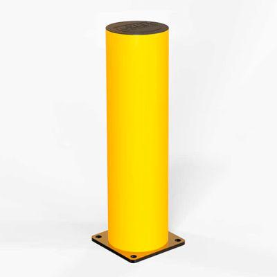 """A-Safe 29-1/2""""H Flexible Bollard, Concrete Installation, Yellow, 006-004"""