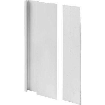 Prime-Line C 1062 Door Cover Plate And Pull, Aluminum