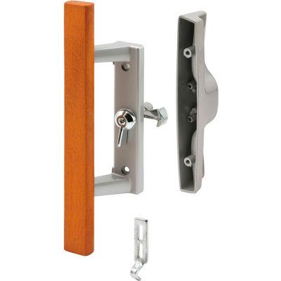 Prime-Line C 1258 Sliding Door Handle, 3-15/16 X 1-3/4-Inch, Aluminum