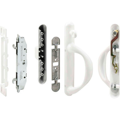 Prime-Line C 1308 Patio Door Handle Set, White, Mortise System, Right Hand
