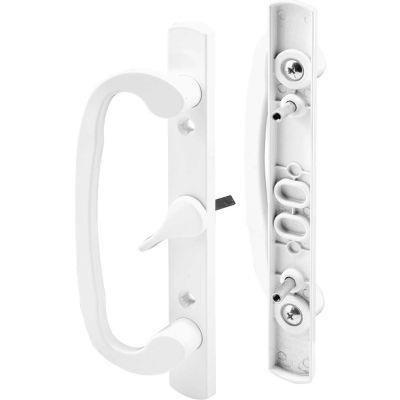 Prime-Line C 1317 Sliding Door Handle Set, White