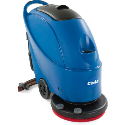 """Clarke®FOCUS®II BOOST®Micro Ride-On Battery Floor Scrubber,28"""" Cleaning Path-56382630"""