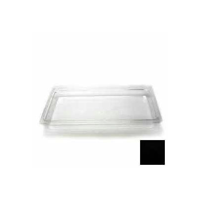 "Cambro 12CW110 - Food Pan, Plastic, Full Size, 2-1/2"" Deep, Black - Pkg Qty 6"