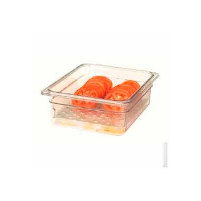 "Cambro 13CLRCW135 - Camwear Colander, 12-3/4"" x 20-7/8"" x 3"" Deep, Fits 1/1 Size Food Pans, Poly - Pkg Qty 6"