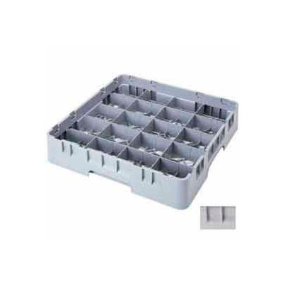 """Cambro 20C414151 - Camrack  Cup Rack 20 Compartments 4-1/4"""" Max Height, Soft Gray, NSF - Pkg Qty 5"""
