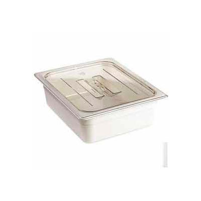 Cambro 20CWCH135 - Camwear Food Pan Cover, 1/2 Size, With Handle, Polycarbonate, Clear, NSF - Pkg Qty 6